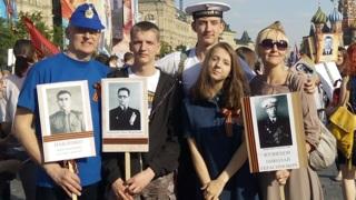 Ольга Павленко (внучка Н.Г.Кузнецова) с семьей