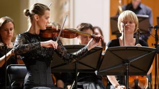 Выступление молодых артистов Московской консерватории.
