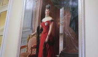 Императрица Мария Федоровна, 1894 год. Эрмитаж.