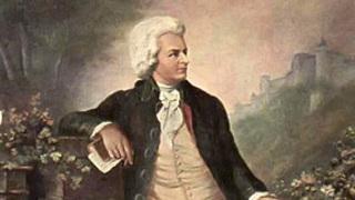 Моцарт. Фрагменты  старинной картины