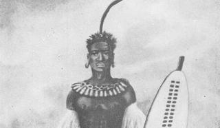 Король зулусов Чака (зулу. Shaka kaSenzangakhona, 1787-1822),