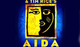 """Постер мюзикла """"Аида"""" Элтона Джона на Бродвее"""