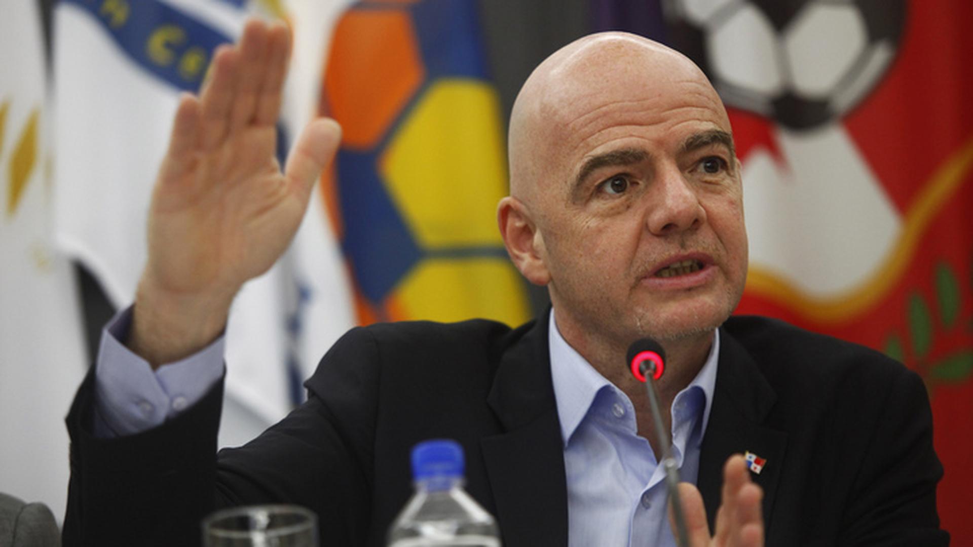 Инфантино: Россию никто не покорял, но завтра она будет завоевана футболом