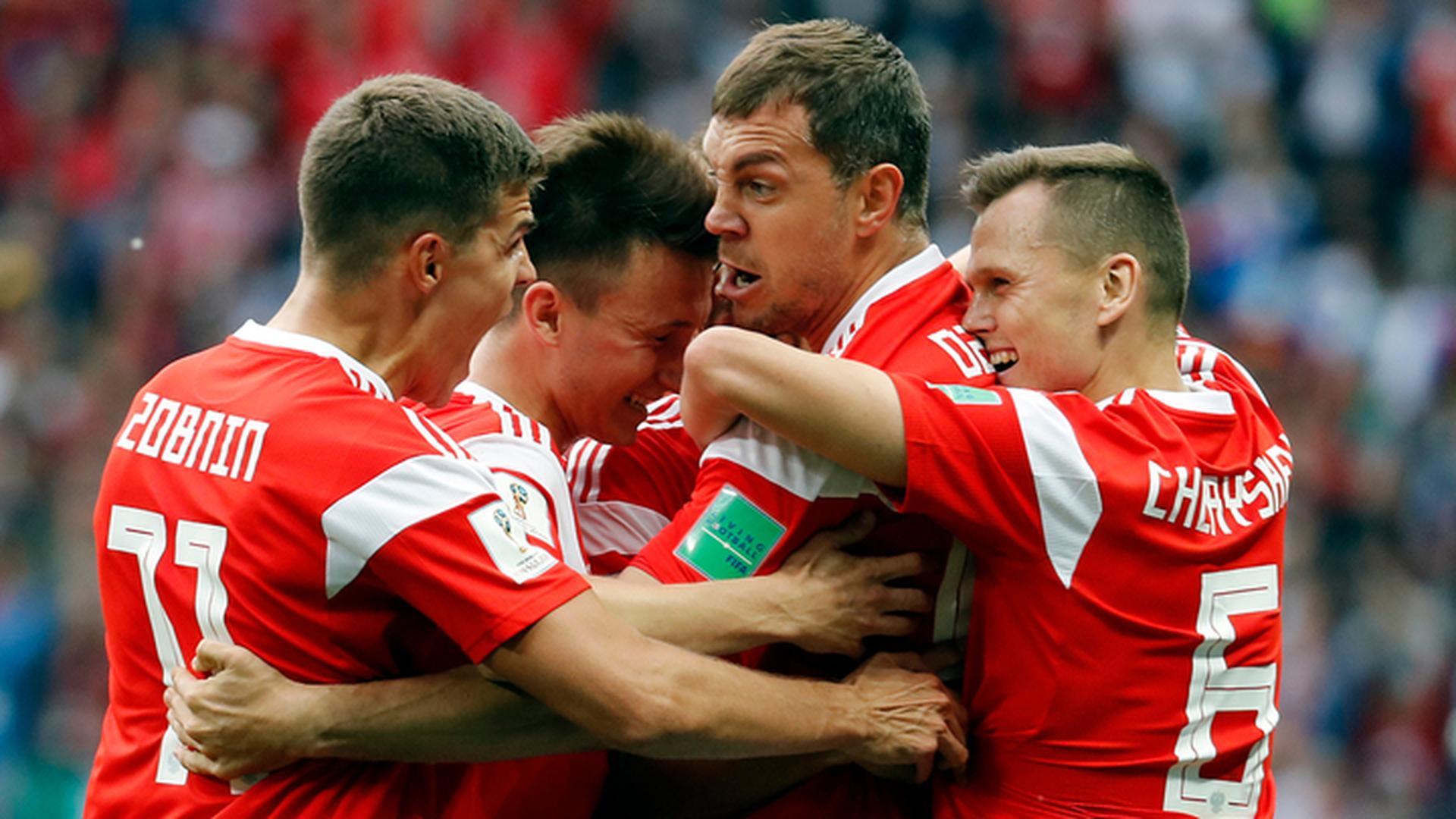 Россия разгромила Саудовскую Аравию в первом матче чемпионата мира
