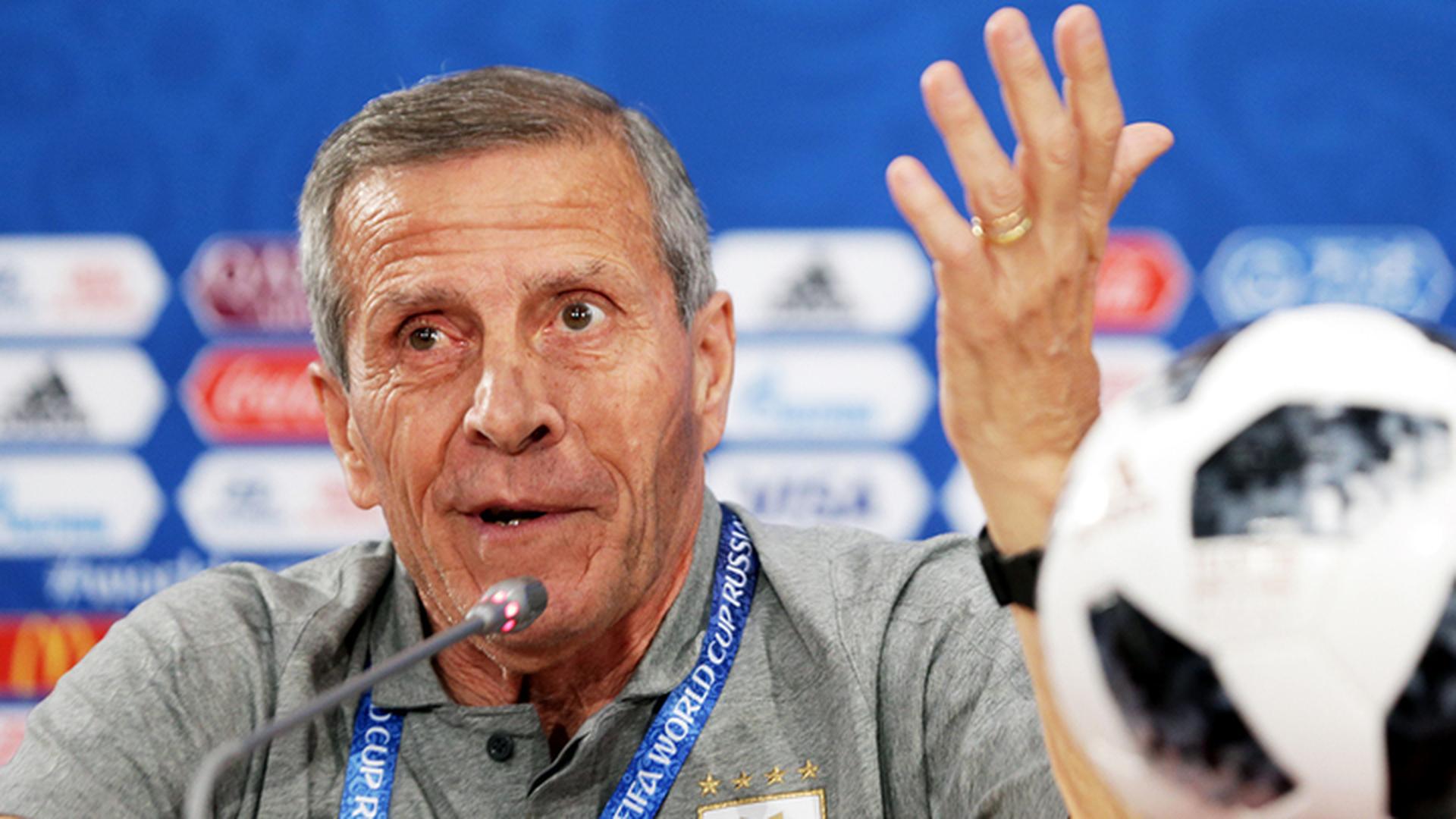 Тренер Уругвая Табарес: мы должны выиграть у России или умереть