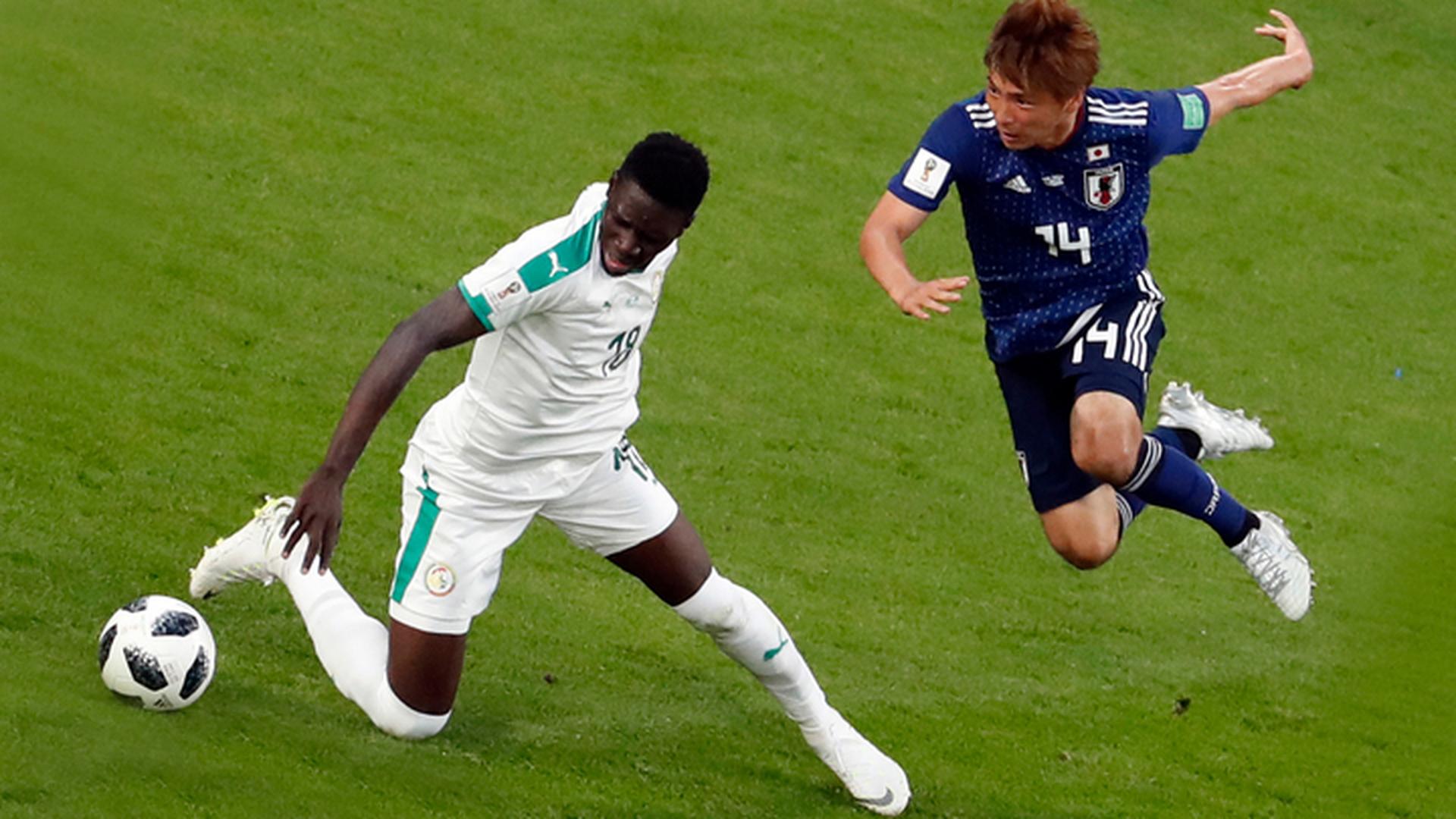 Гол Хонды принес Японии ничью в матче против Сенегала