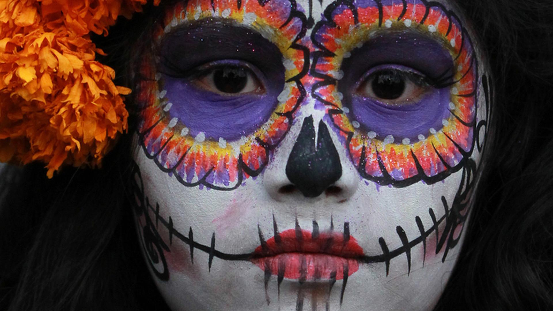 Мексиканский праздник День мертвых стал сюрпризом для москвичей