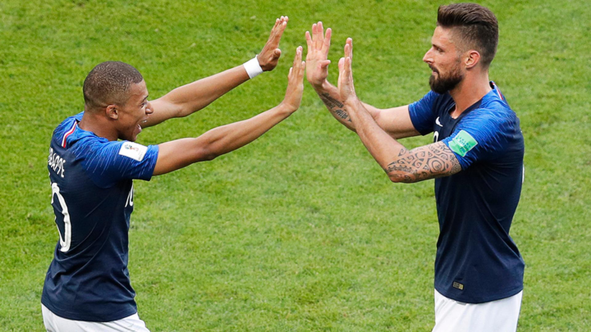Мбаппе как Пеле:  футболисты Франции выбили сборную Аргентины