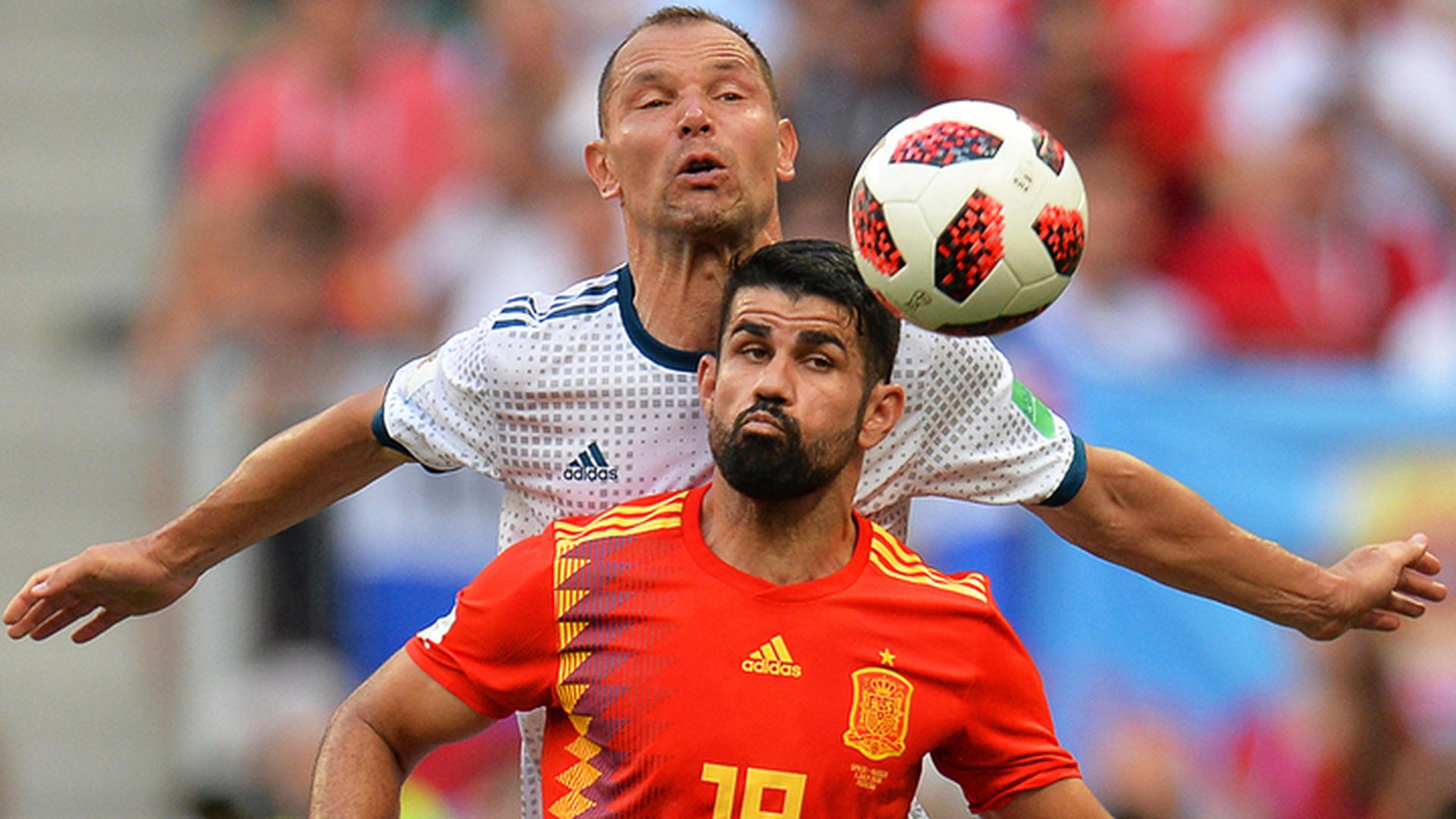 Футболисты России и Испании будут играть дополнительное время