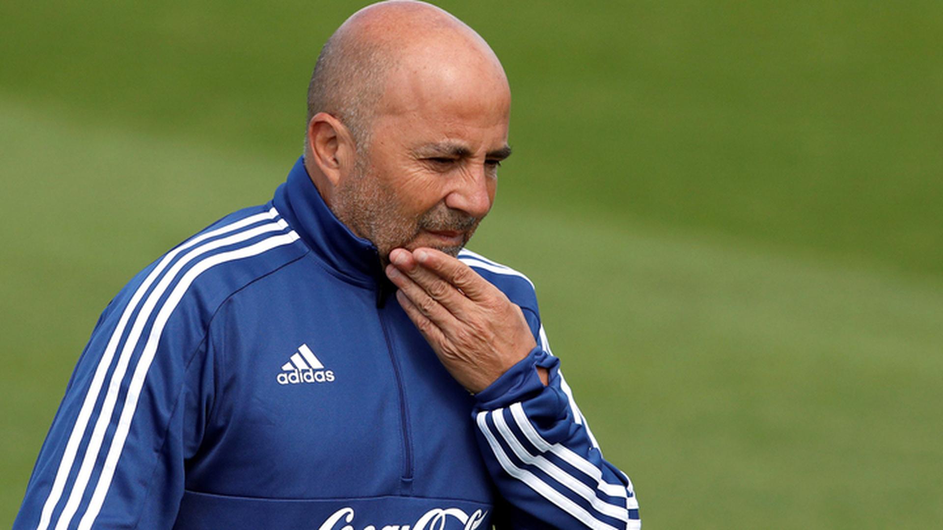 Тренер Аргентины Сампаоли будет отправлен в отставку