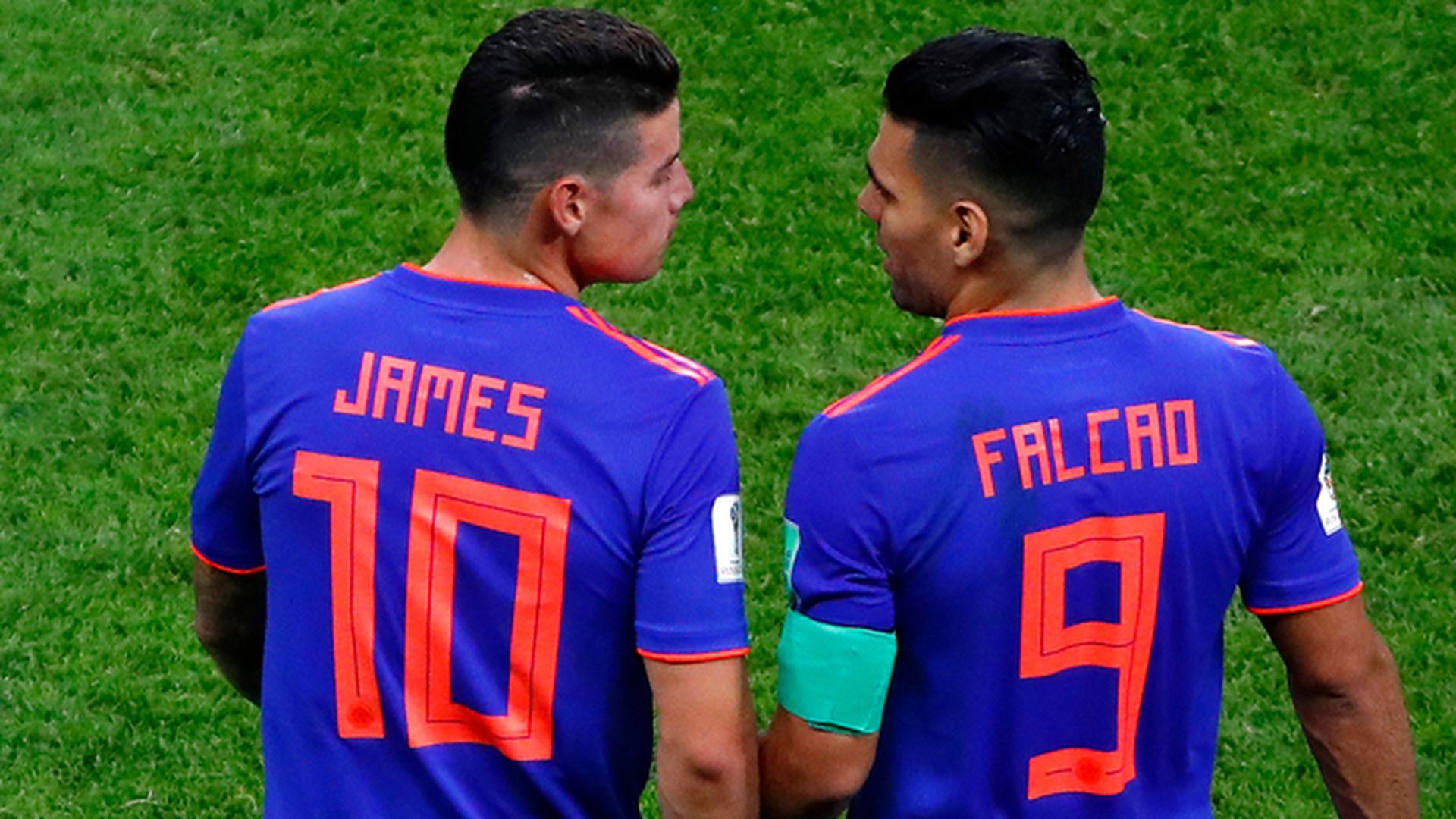 Хамес Родригес остался в запасе сборной Колумбии на матч с англичанами