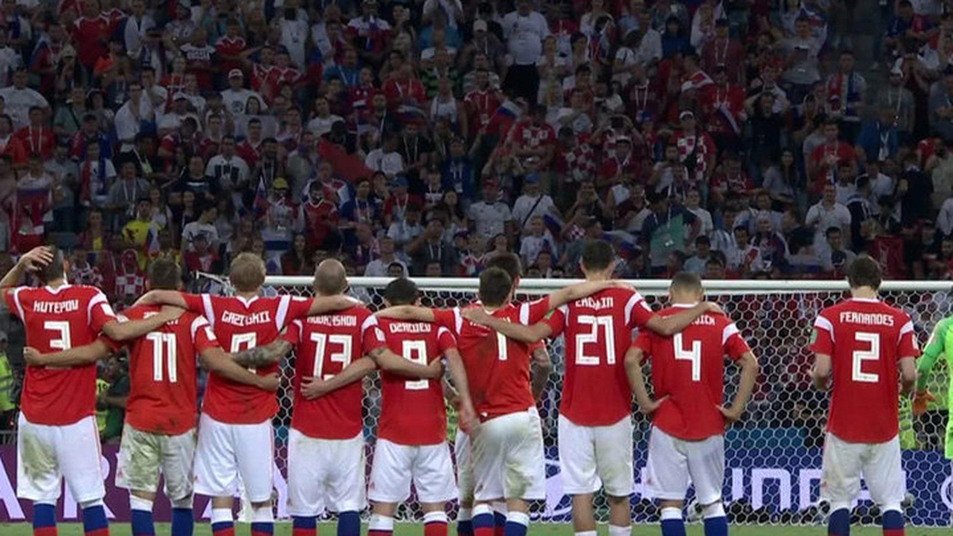Российская сборная в матче с хорватами сделала невозможное