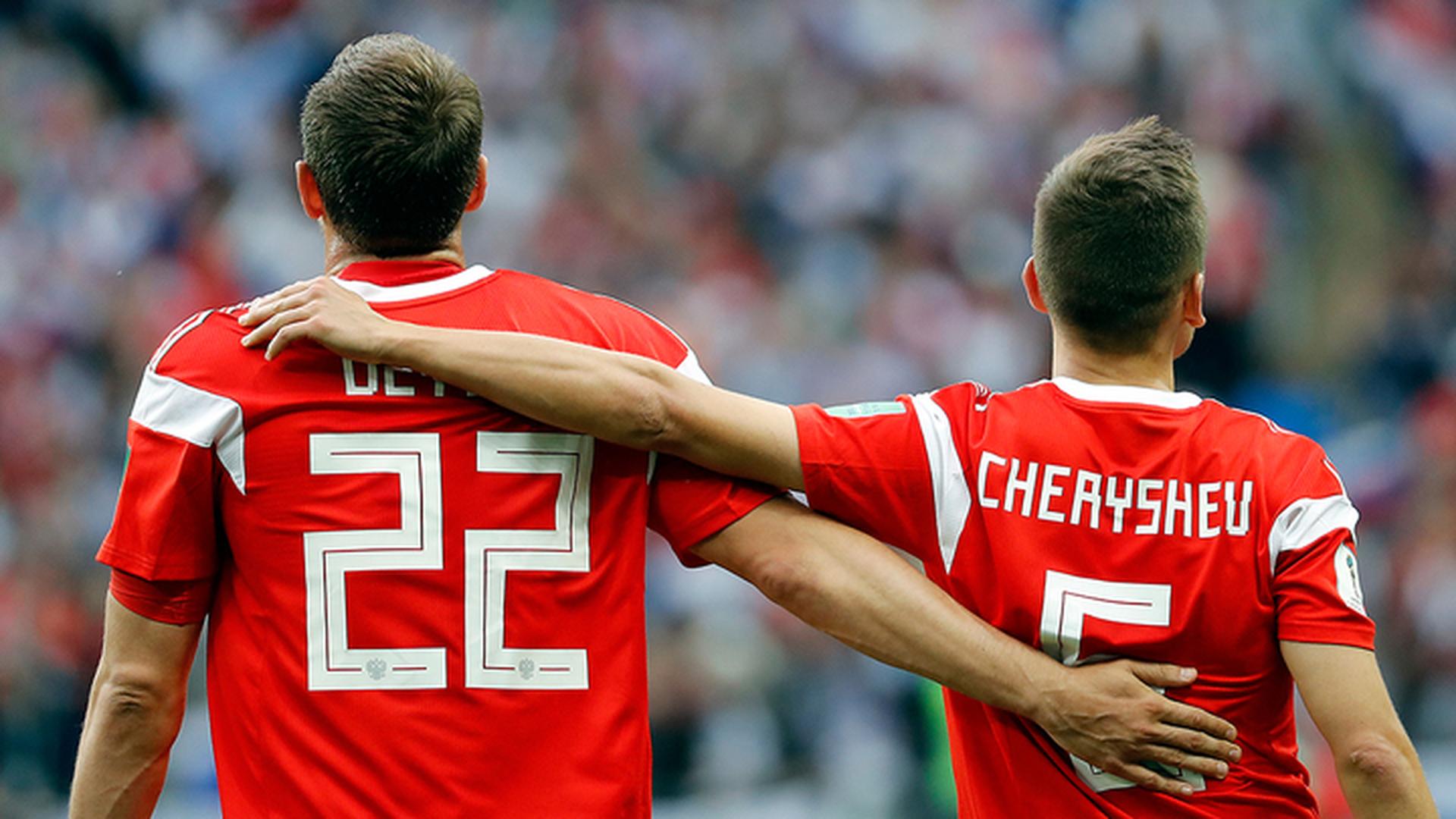 Черышев и Дзюба включены в сборную открытий чемпионата мира-2018