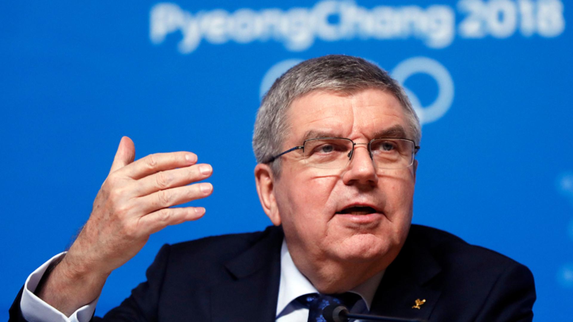Глава МОК Томас Бах планирует посетить финал чемпионата мира