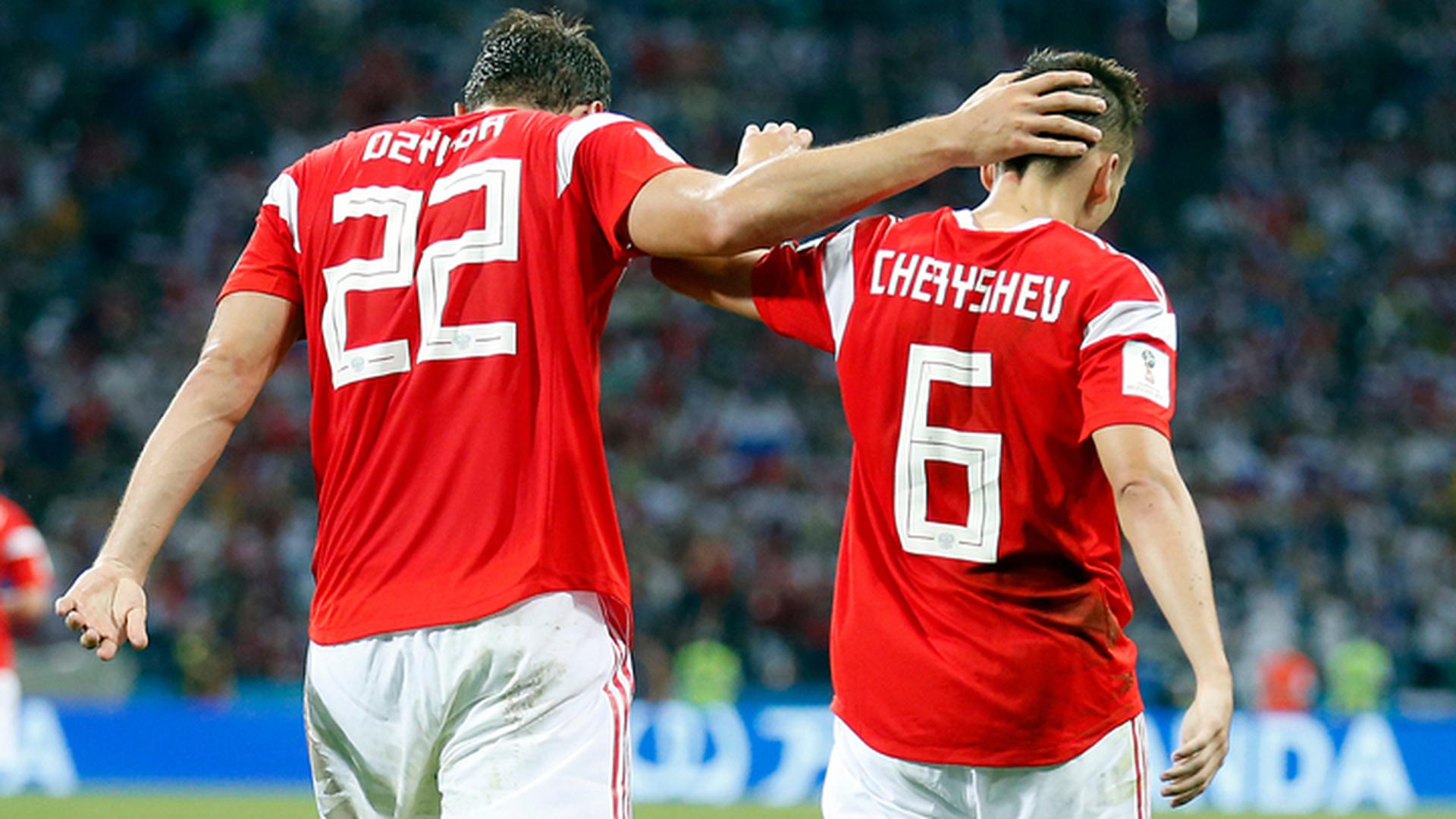 Черышев, Дзюба и Фернандес в списке лучших игроков World Cup-2018