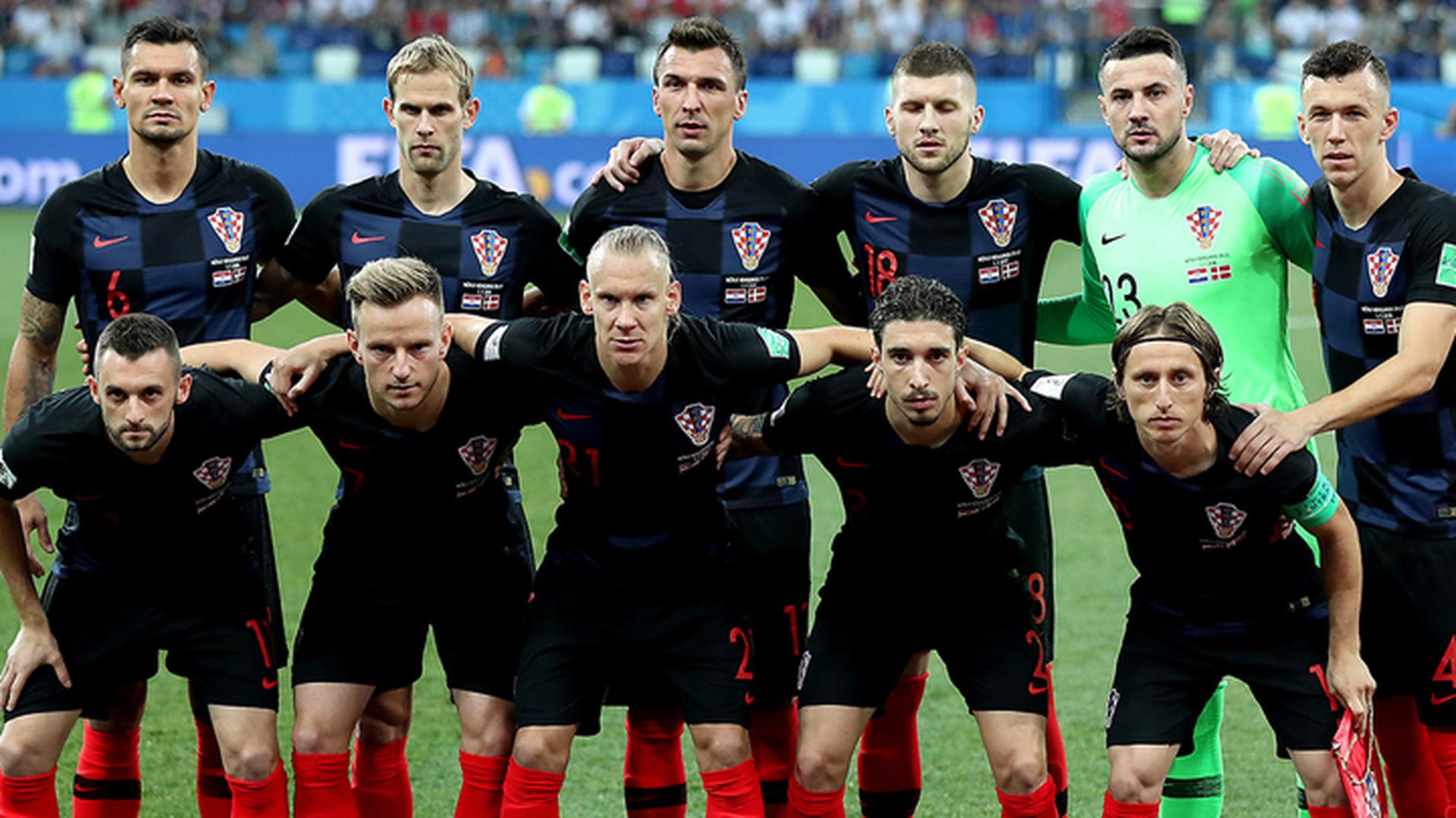 Модрич, Манджукич и Субашич сыграют финал с Францией