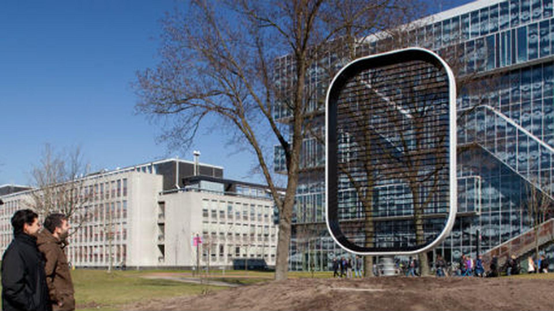 Голландские ученые представили инновационный ветрогенератор без лопастей