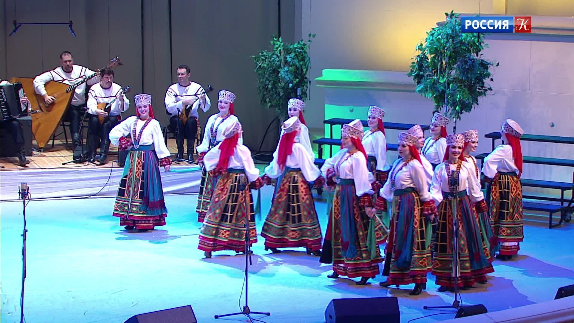 Государственный академический русский народный хор имени М.Е. Пятницкого. Юбилейный концерт
