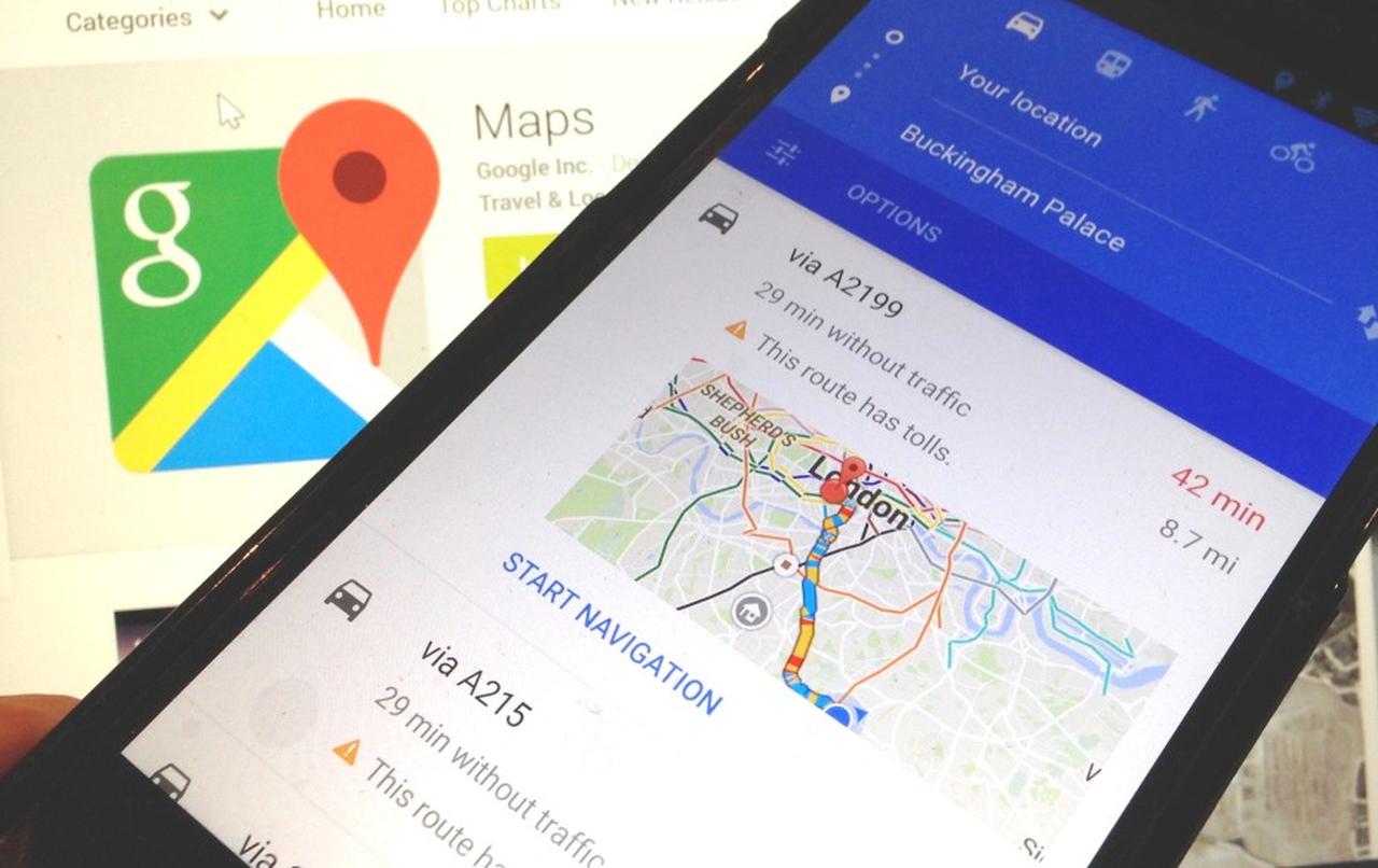 Google добавил в«Карты» оценку загруженности парковок в столице