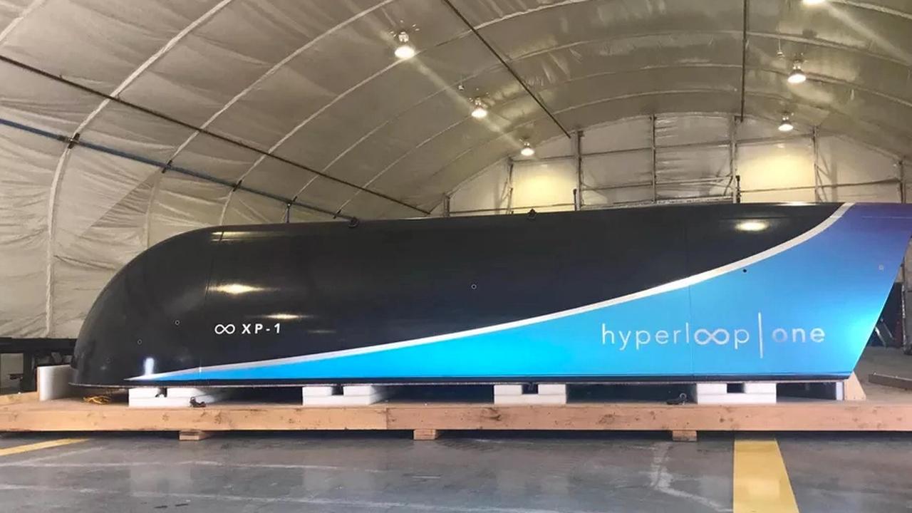 Новые тестирования  иплан маршрутов поЕвропе— Вакуумный поезд Hyperloop