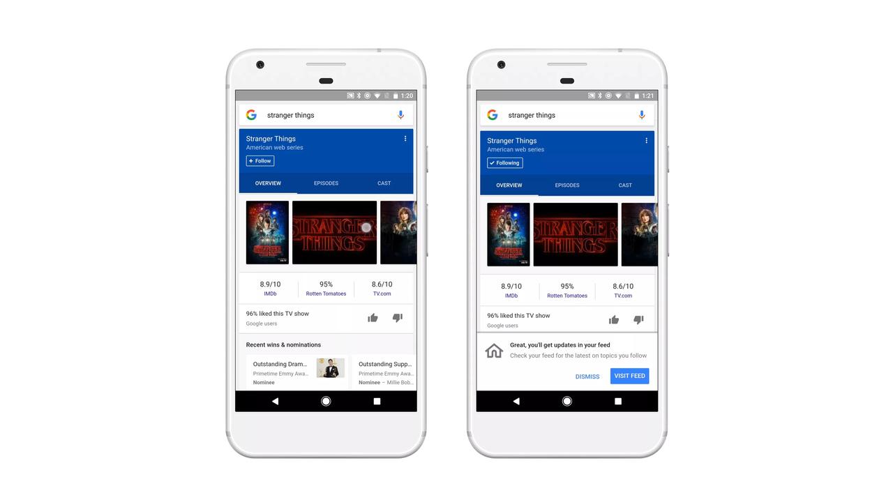 Google представила умную ленту новостей