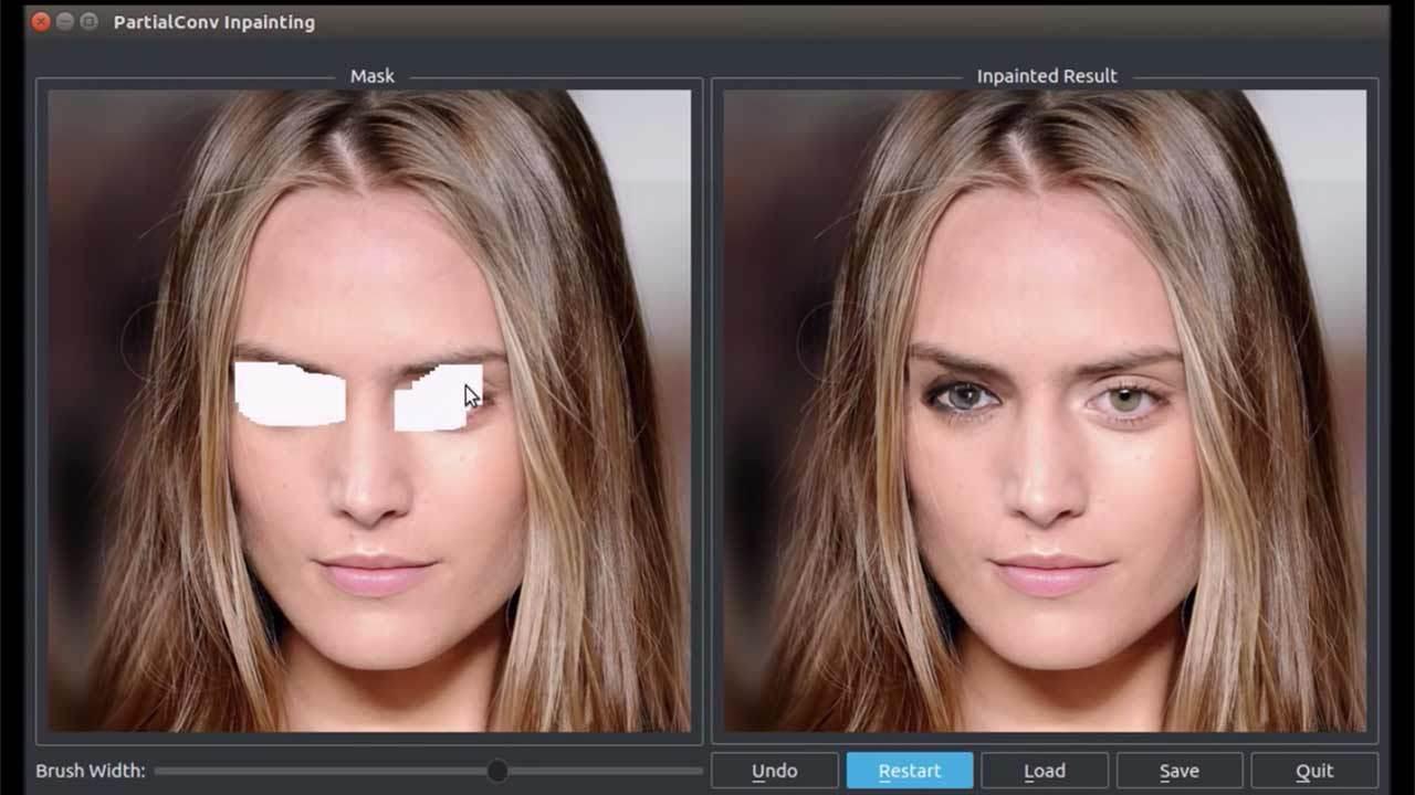 Nvidia создала искусственный интеллект, восстанавливающий изображения