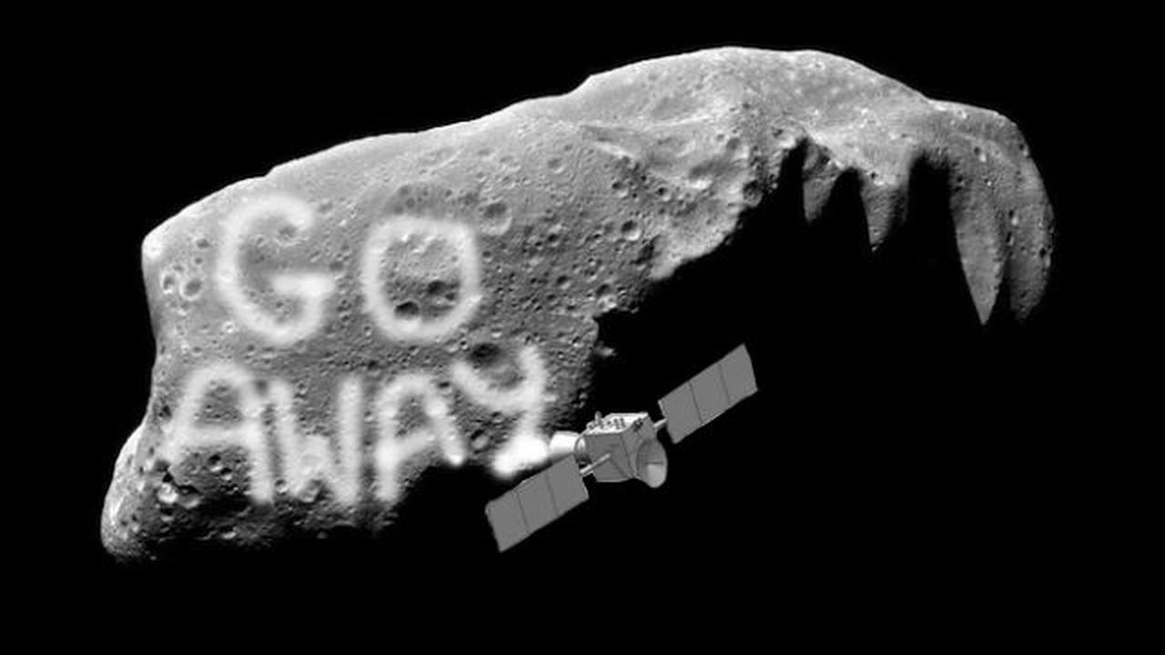 Перекрасим астероиды – спасём планету!