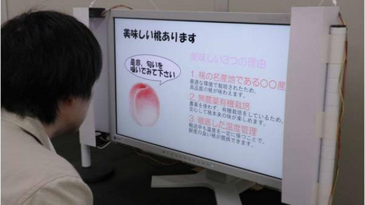 Японцы презентовали экран, передающий запахи