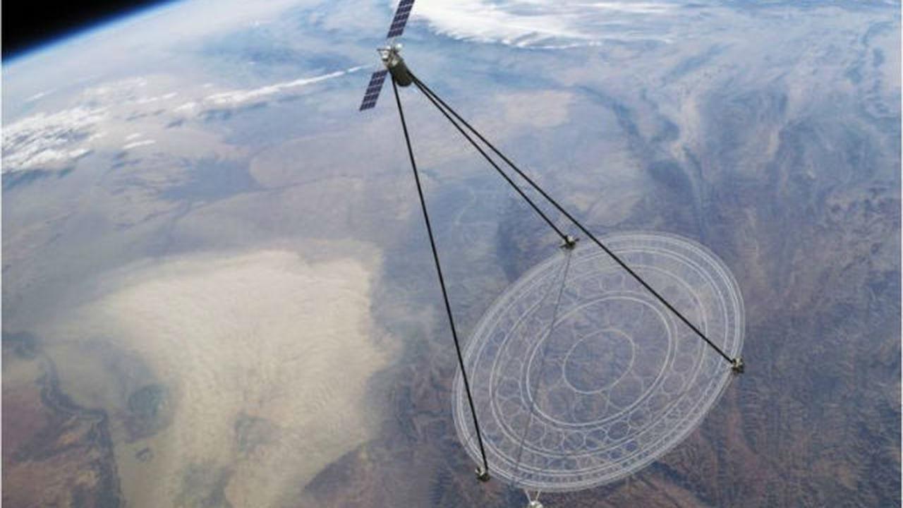 DARPA создаёт складной космический телескоп с полимерной оптикой