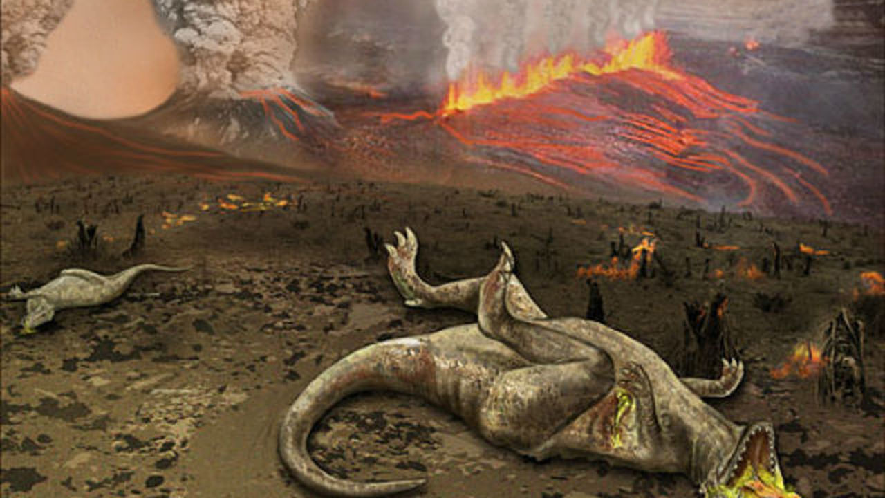 В вымирании динозавров может быть виновата тёмная материя