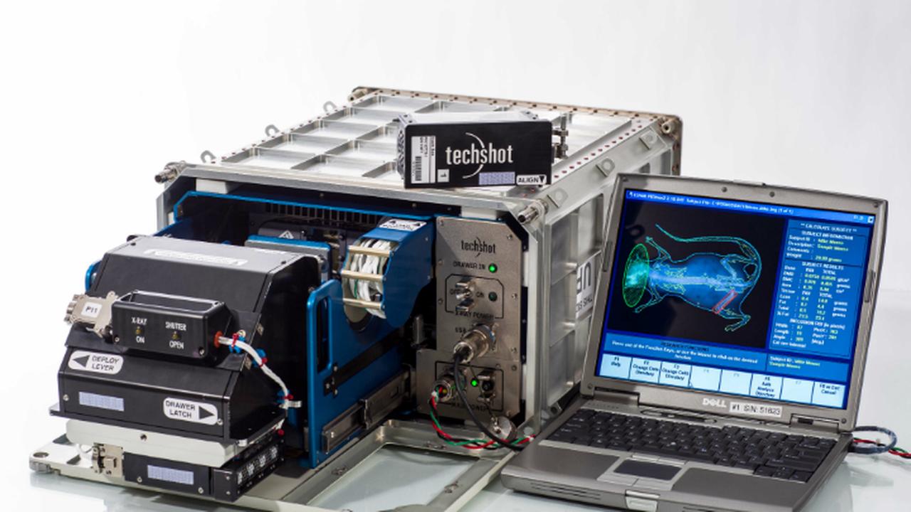 На МКС отправится первый медицинский рентгеновский аппарат