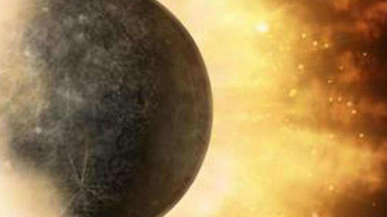 Столкновение с другим объектом помогло сформироваться столь странному Меркурию