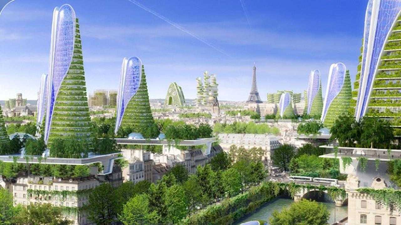 Париж может превратиться в город-сад к 2050 году