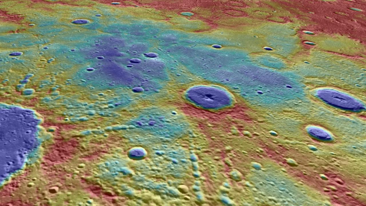 Близкий пролёт аппарата помог установить возраст магнитного поля Меркурия