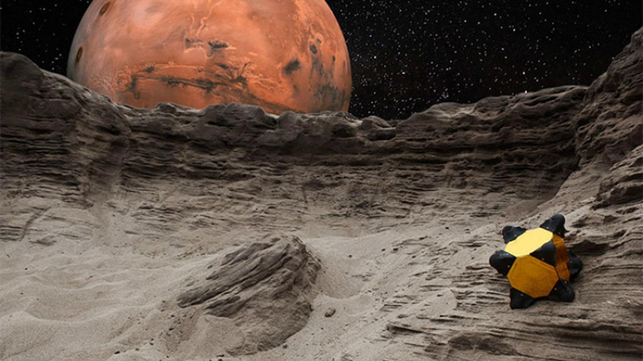 Астероидная глина защитит будущих колонизаторов Марса и Луны от радиации