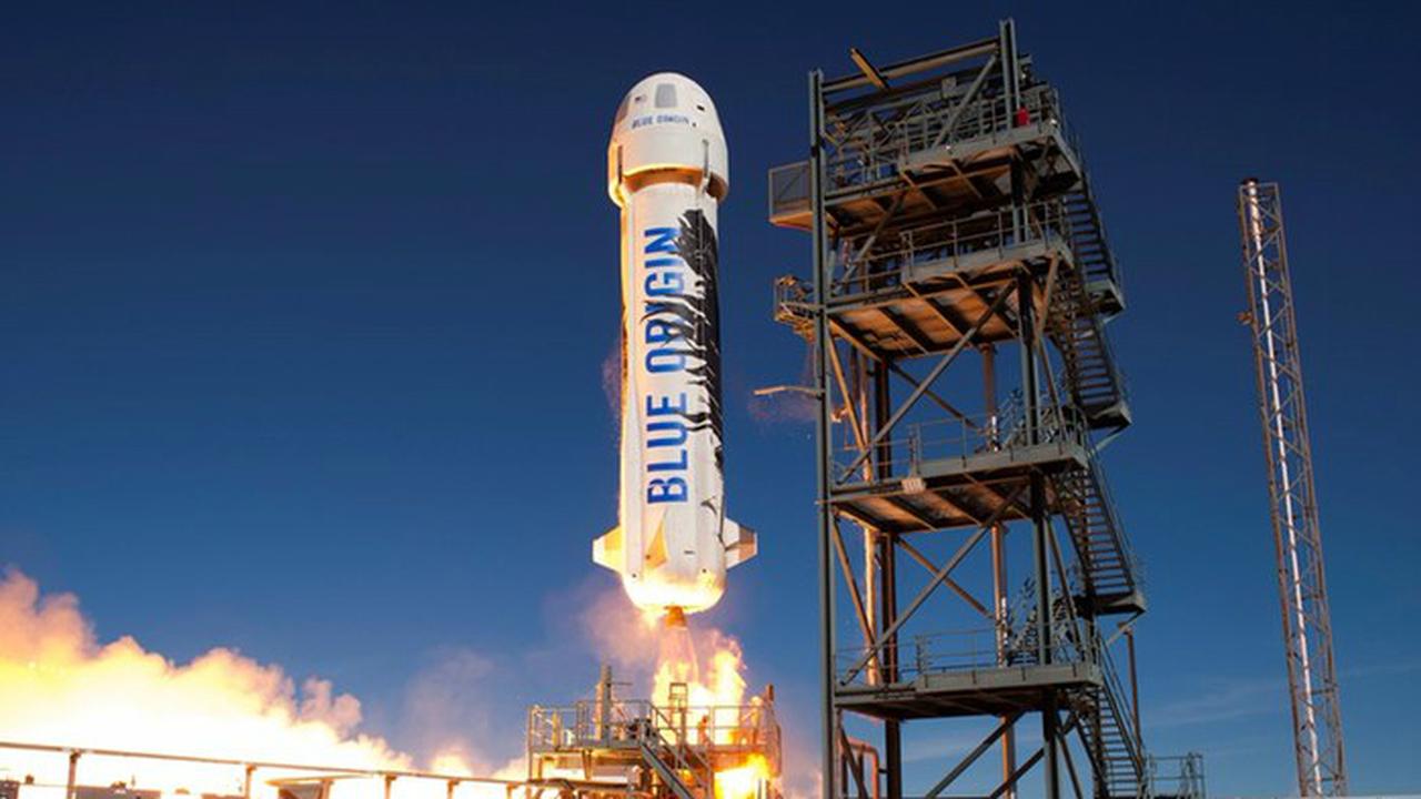 Специалисты компании Blue Origin повторили успех по посадке ракеты