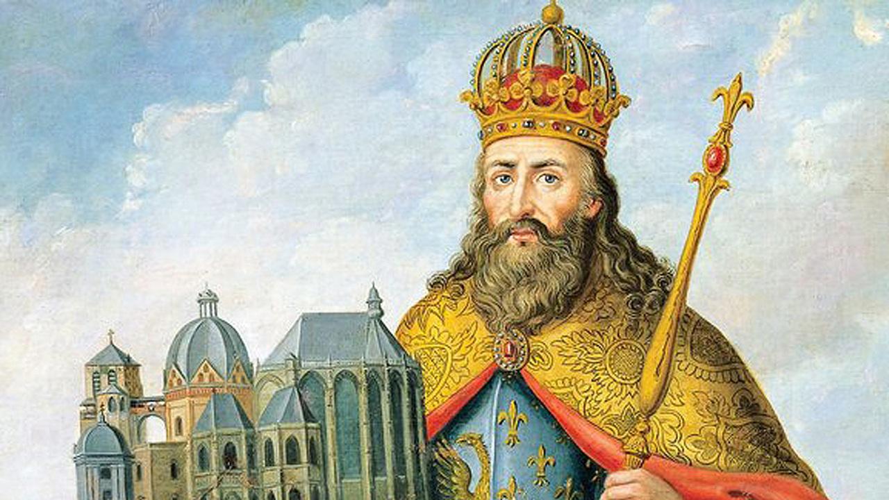 В печатях Карла Великого и его предшественников нашли королевские волосы