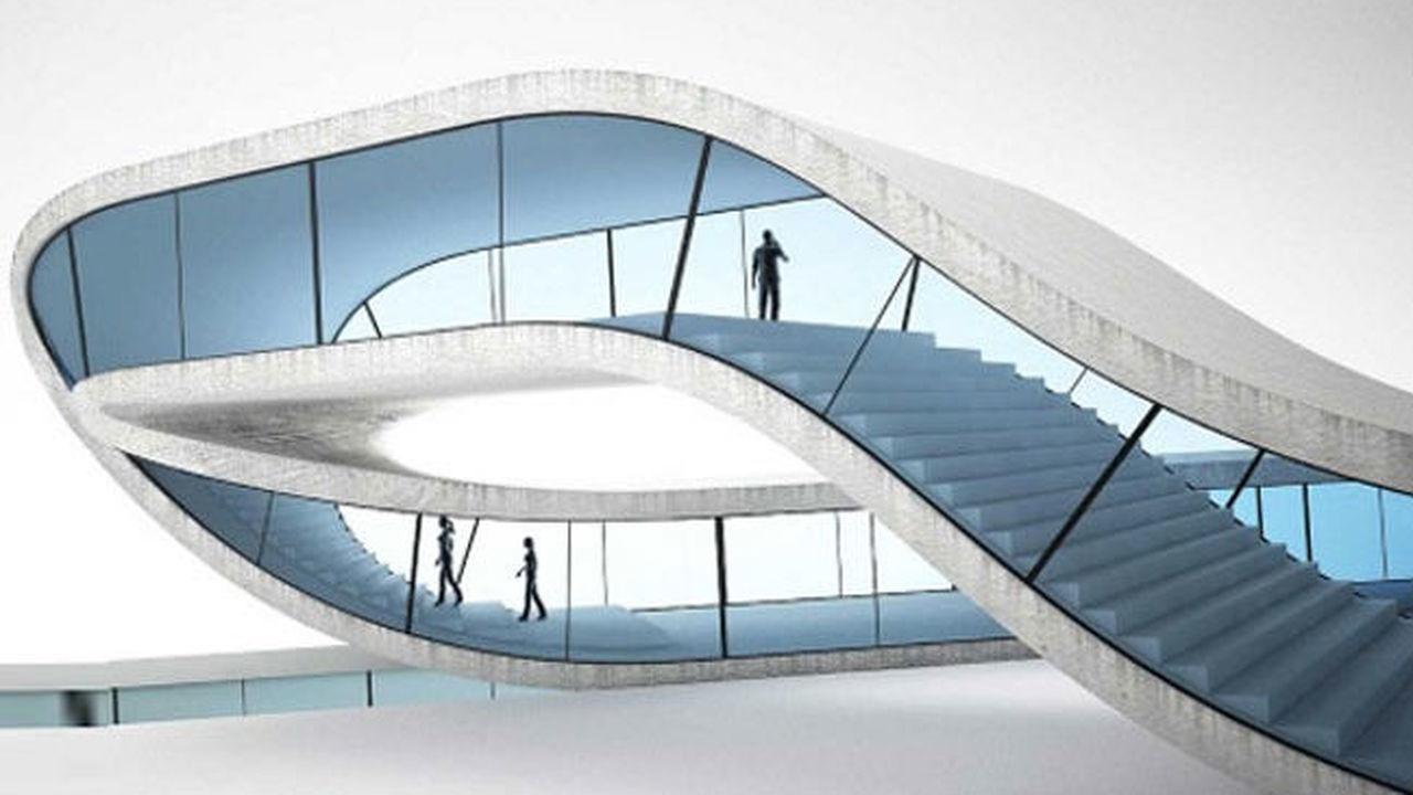 """Архитектор представил 3D-принтер для создания дома """"без начала и конца"""""""