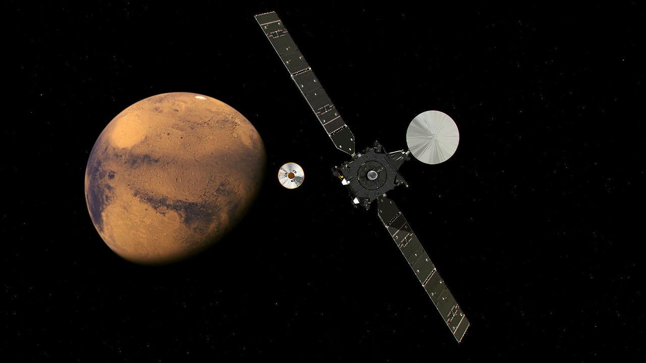 "Аппарат TGO выяснит, сколько на Марсе ""газов жизни"""