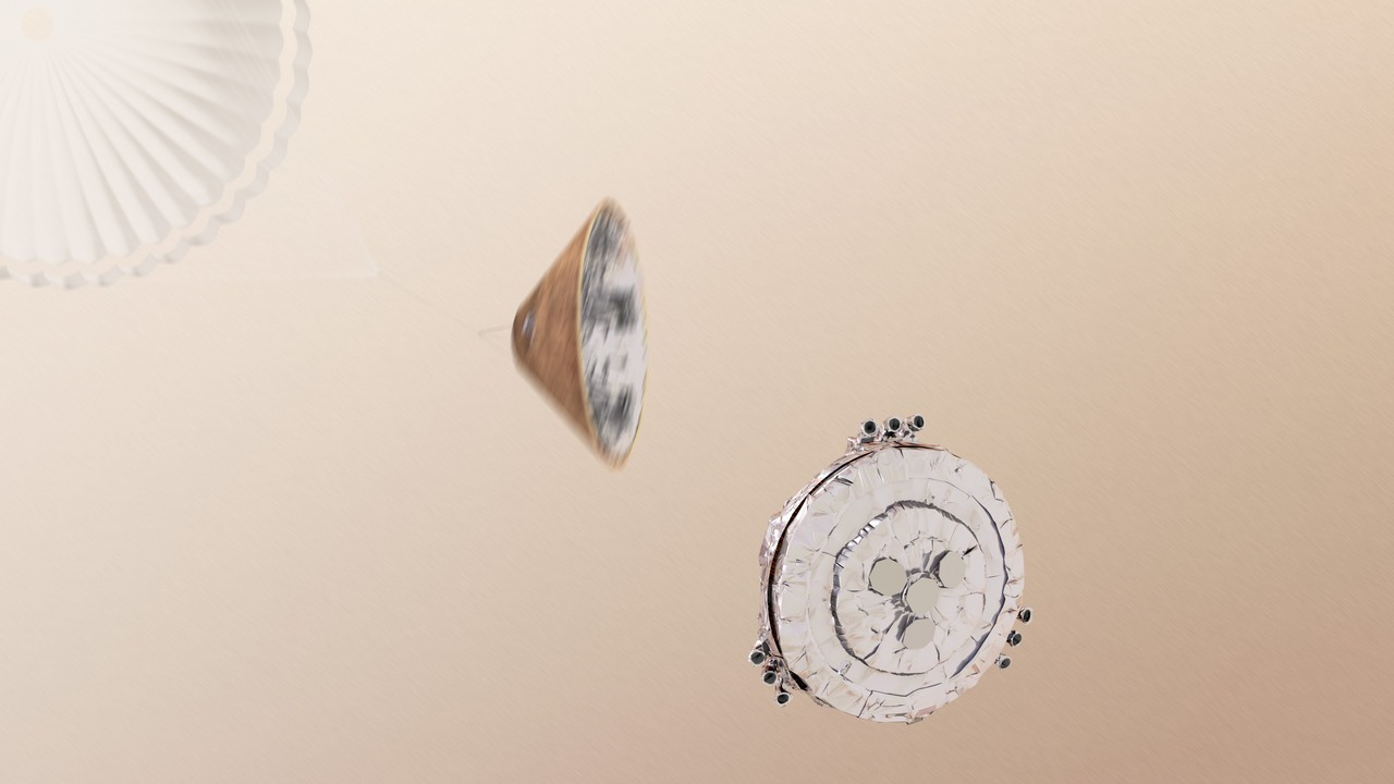 """Судьба """"Скиапарелли"""" остаётся неизвестной: зонд НАСА не смог связаться с модулем"""