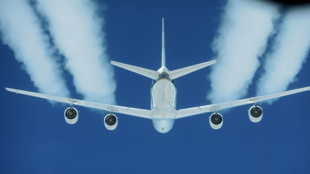 Биотопливо снижает негативное воздействие самолётов на климат