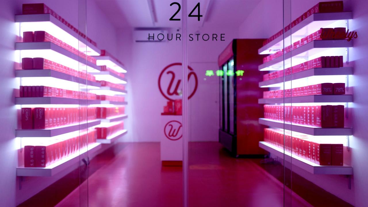 Открылся первый магазин без касс и продавцов