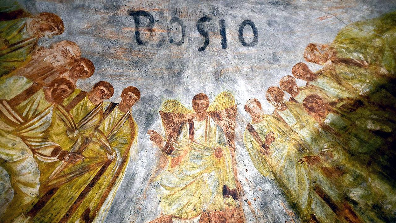 Первые христиане и лазерные технологии: ученые рассказали об уникальной реставрации римских катакомб