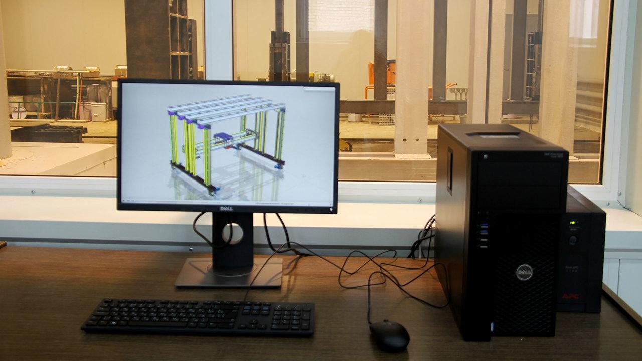 В Белгороде испытали промышленный 3D-принтер