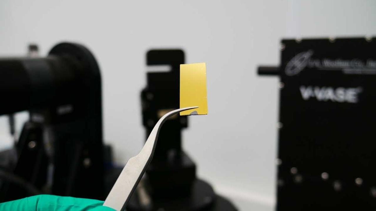 Российские учёные определили оптические свойства сверхтонких плёнок золота