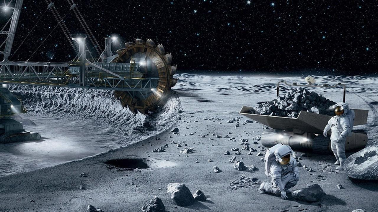 Добыча воды и 3D-печать на Луне: в России будет создана космическая горнодобывающая отрасль