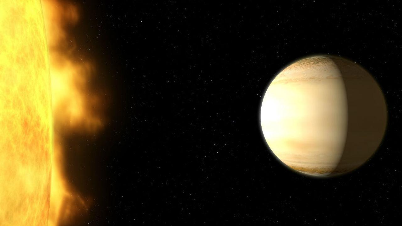 """Хаббл"" обнаружил удивительную планету, богатую водой"