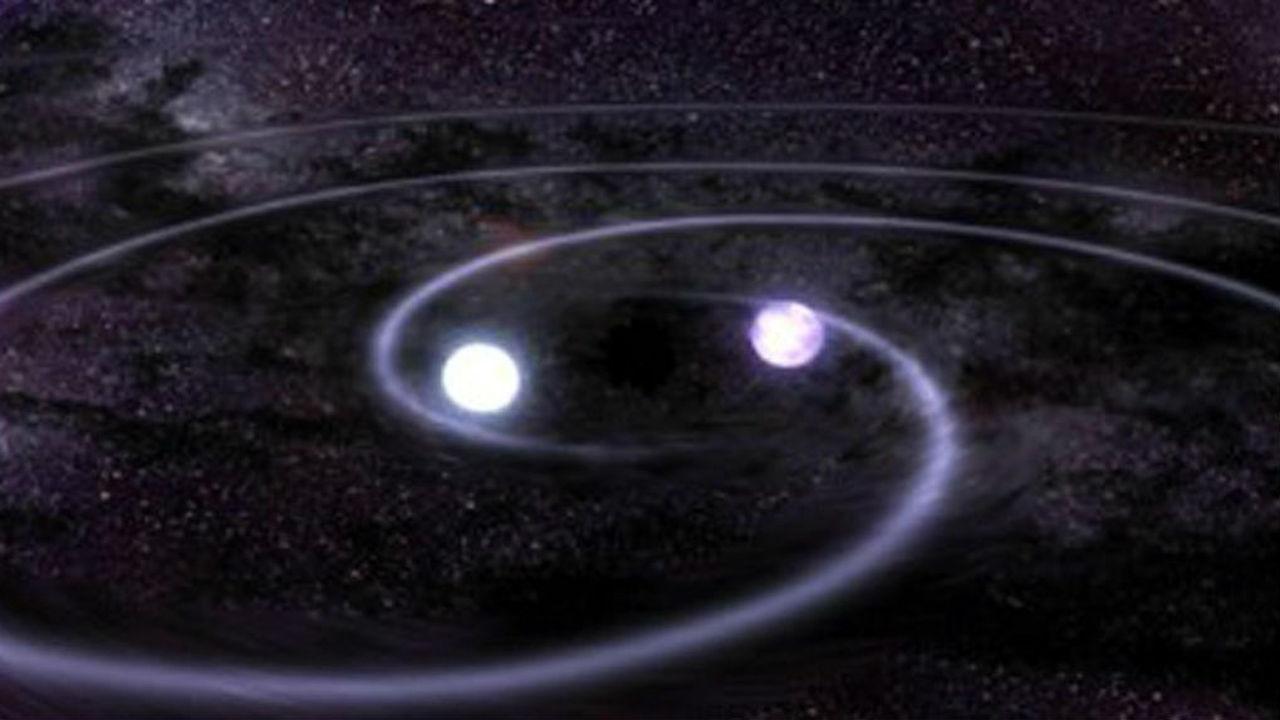 Во всплесках гравитационных волн виноваты сверхмассивные чёрные дыры