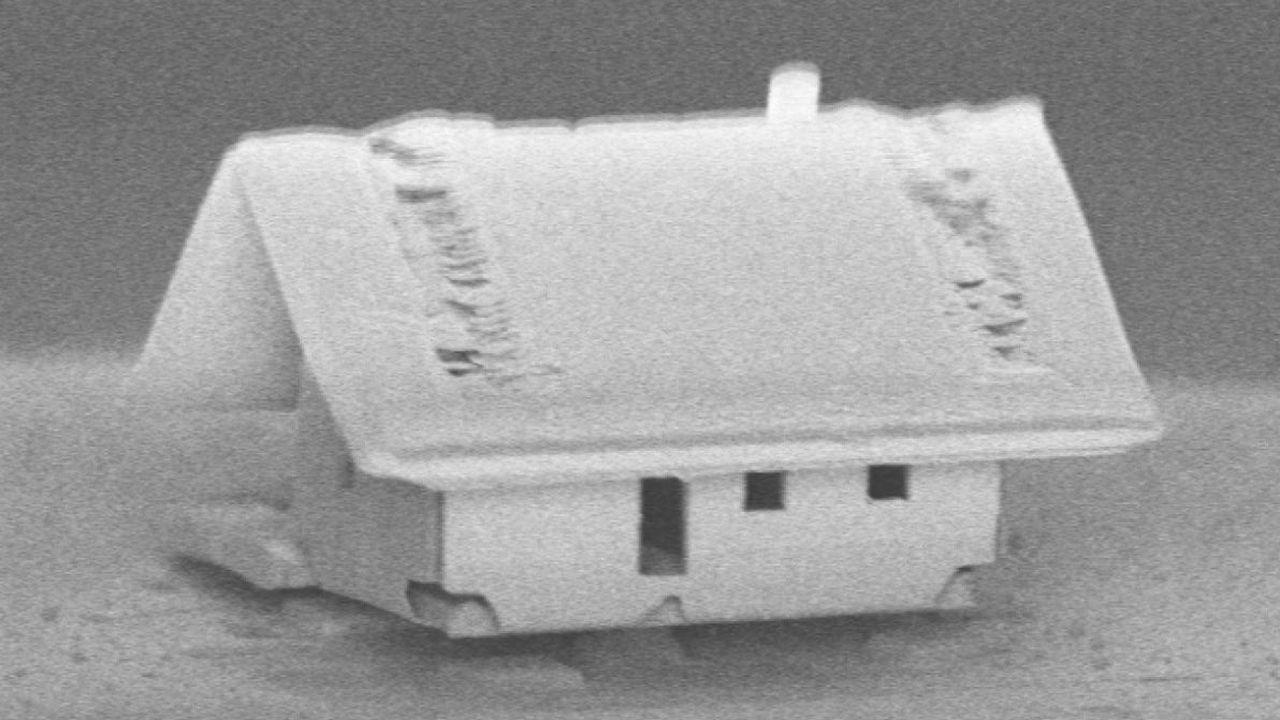 Инженеры построили дом на кончике оптического волокна