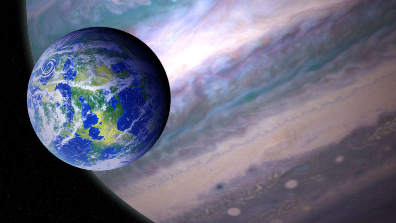 Обитаемые луны могут встречаться чаще обитаемых планет